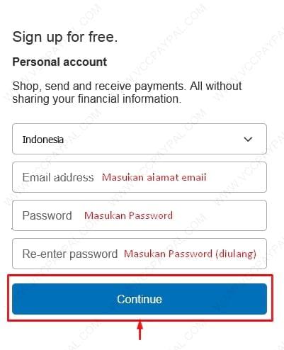 Cara Pembuatan Akun Paypal Premier