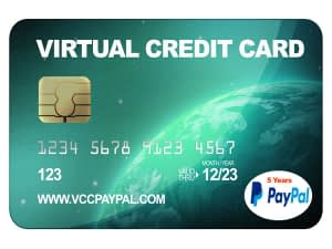 VCC Paypal 5 Tahun