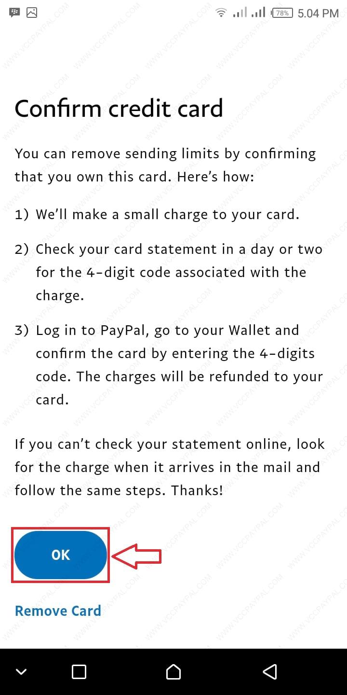 Tutorial Verifikasi Akun Paypal Premier Android Version