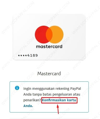 Tutorial Verifikasi Akun Paypal Business