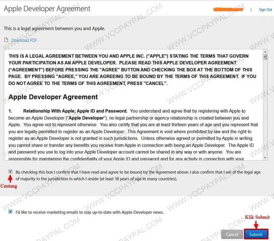 Tutorial-Memasukan-VCC-Apple-Developer-1