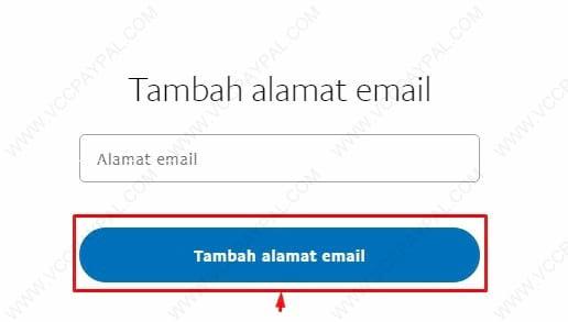 Cara mengganti email paypal