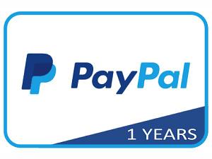 Pembuatan Akun Paypal Verified 1 Tahun