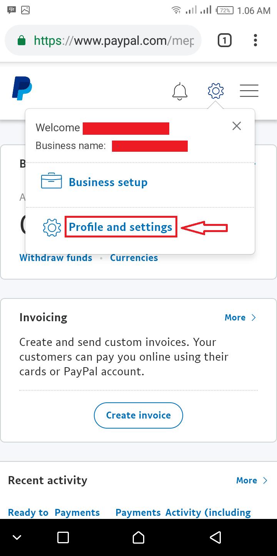 Tutorial Verifikasi Akun Paypal Business Android Version