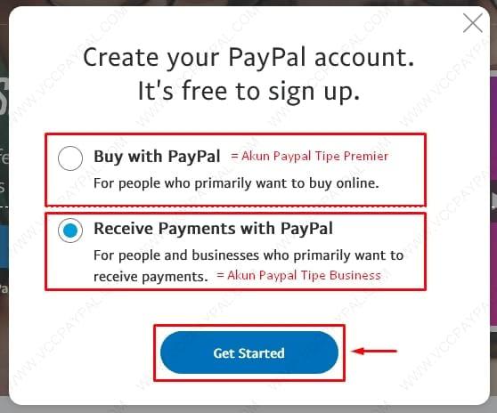 Cara Pembuatan Akun Paypal Business