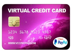 VCC Paypal 1 Tahun