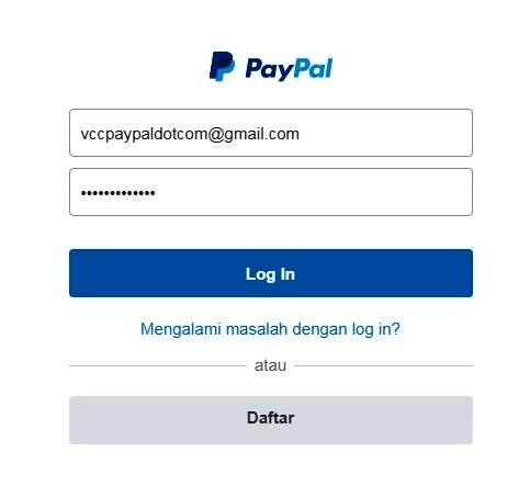 Cara menerima dan mengirim saldo paypal