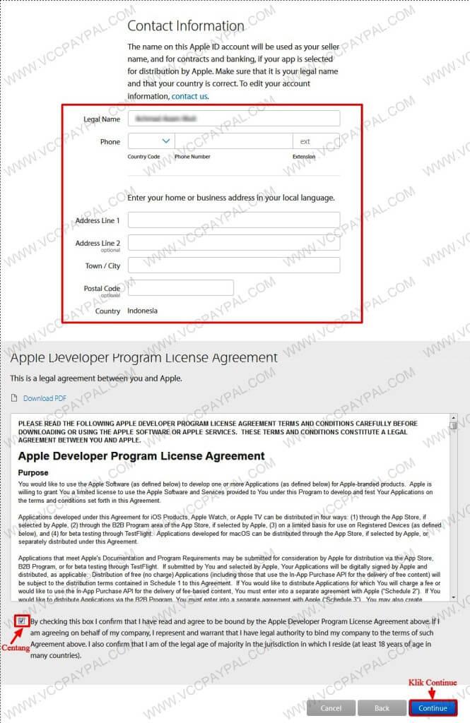 Tutorial-Memasukan-VCC-Apple-Developer-3