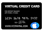 VCC Itunes App Store (Tambah Saldo)